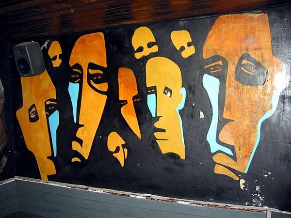 Jacaranda Wandbild