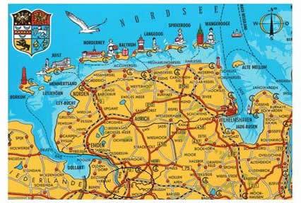 eine karte von deutschland