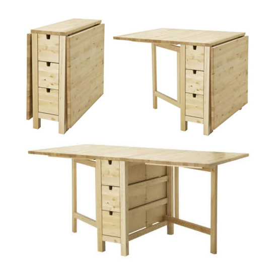 ikea norden klapptisch birke ovp nagelneu 20104718. Black Bedroom Furniture Sets. Home Design Ideas