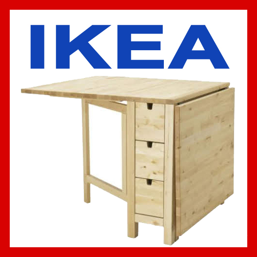 ikea norden klapptisch birke ovp nagelneu 20104718 ebay. Black Bedroom Furniture Sets. Home Design Ideas